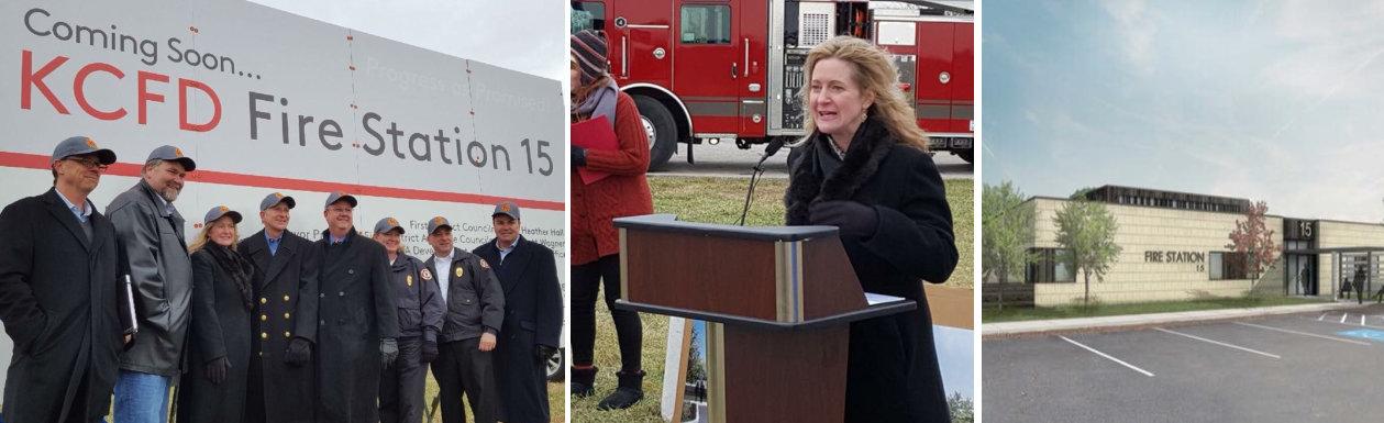 new fire station for the kansas city northland Heather Hall Kansas City1